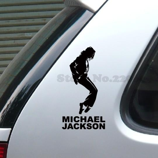 Michael Jackson Classical Dance Sticker Vinyl Wrap Reflective Tape Car Stickers For Motorcycle And So On