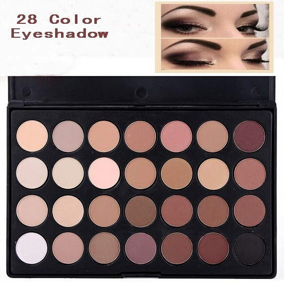 Picture of Pro Makeup 28 Color Nude Eye Shadow Palette In Box Hot Size 28