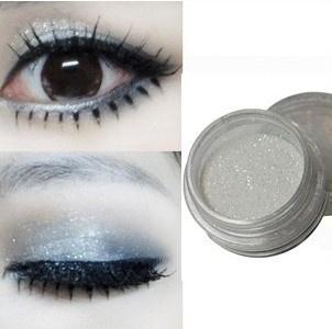 Picture of Small Glitter High-light Powder Put Glitter Superfine Super Flash White Pearl Eye Shadow Powder 1pc