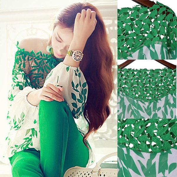 blouse, Fashion, leaf, Shirt