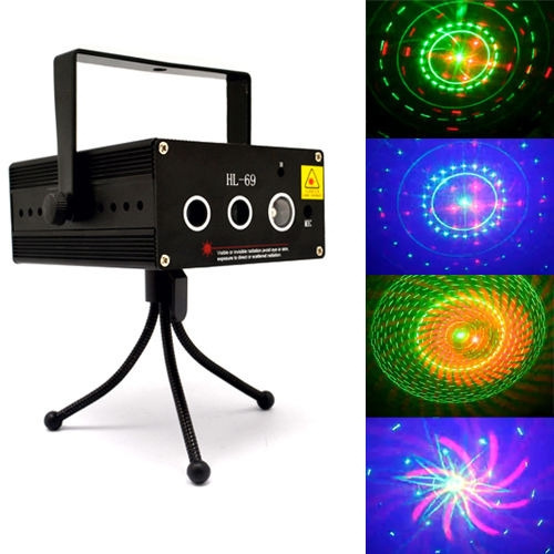Picture of Master 100kinds Singal Units Patterns Rgb Led Laser Stage Lighting Adjustment Dj Party Wedding Club Bar Projector