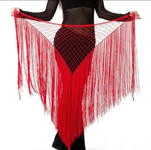 Belly Dance Costume Copper Hip Scarf Tribal Fringe Tassel skirt Dress Belt
