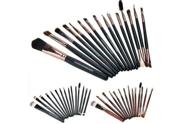 Professional Synthetic 15 Pcs Make-Up Brushes Makeup Tools Kit Hair Eyeshadow Brushes Makeup Brushes Sets Kits