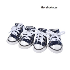 New 4PCS Puppy Dog Denim Shoes Sport Sneaker Pet Casual Anti-slip Boots Hot