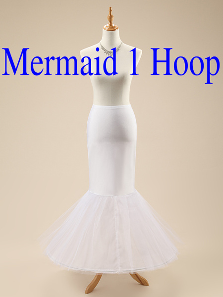Wish Tutu Skirt Plus Size Petticoats Fishtail Mermaid Petticoat