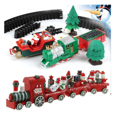 Christmas Decoration, cute, Decor, woodentrain
