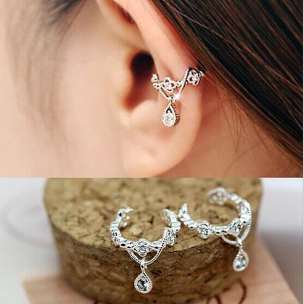 cute, Fashion, Jewelry, Earring Cuff