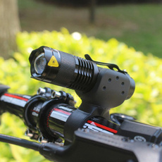 2000LM Q5 LED Flashlight Adjustable Focus Torch Lamp Waterproof Torch Light Cycling Bike Bicycle Front Light 3 Modes+360° Bike Torch Mount