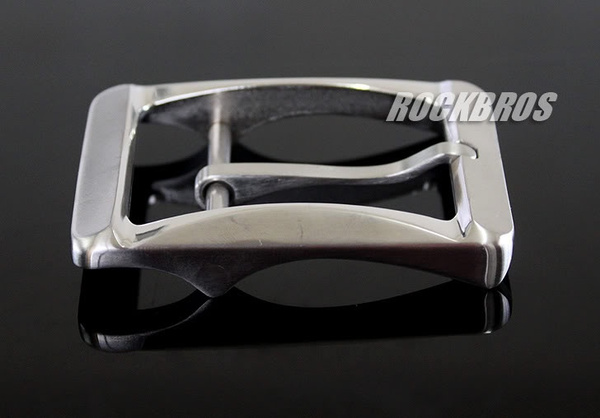Wish   ROCKBROS Titanium Ti Belt Buckle Belt Fastener Brushed Finish Nickel  Free ca2aa0da21b