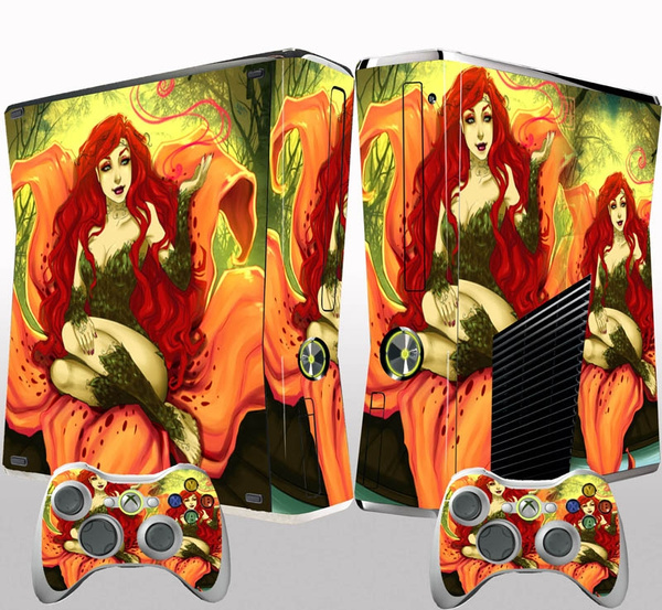 HOT Custom Gift for Xbox 360 Slim Skins Vinyl Sticker Decals Cover Console