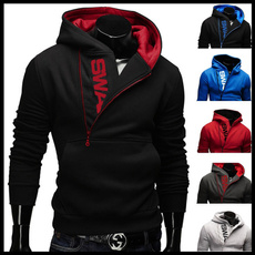 Fleece, cardigan, Hoodies, black hoodie