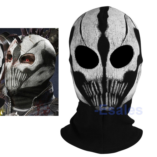 New Call Of Duty Cod Commander Elias Balaclava Ghost Mask Skull