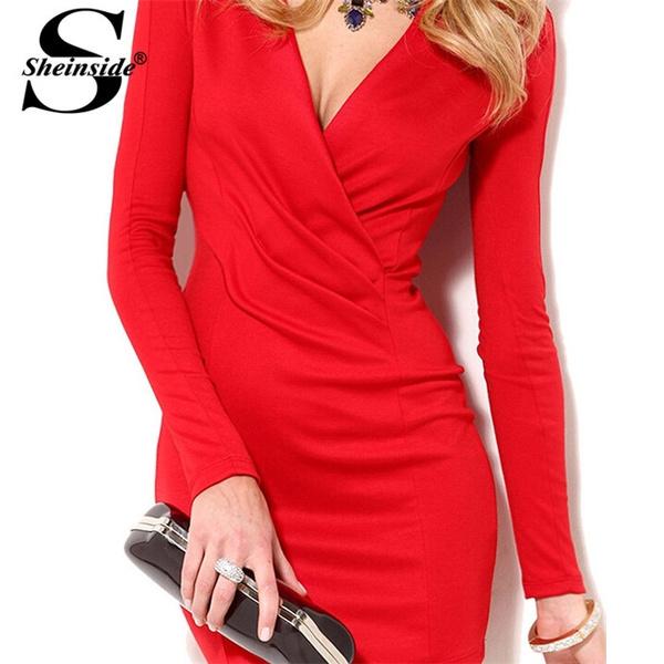 89c5ccfe Sheinside New 2014 Fashion Autumn Style Sexi Parti Casual Women's ...