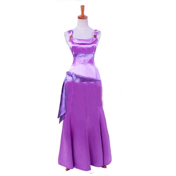 wish hercules meg purple dress halloween costume cosplay party