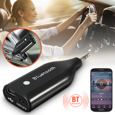 Mini 3.5mm Wireless Bluetooth Handsfree Car Home Speaker Music Receiver Adapter