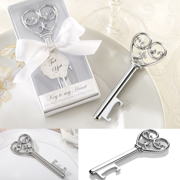 Picture of Key Design Cute Bottle Opener Corkscrew Kitchen Party Wedding Shower Favor Nice