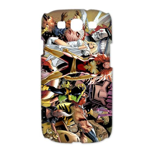 3D Print Marvel X-Men Theme Case Cover for Samsung Galaxy S3 I9300-  Personalized Hard Cell Phone Back Protective Case Shell-Perfect as gift
