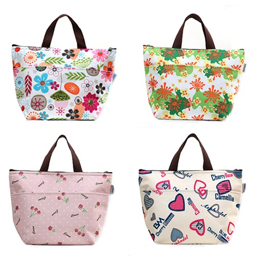 Picture of Thermal Travel Picnic Lunch Tote Waterproof Insulated Cooler Carry Bag Organizer