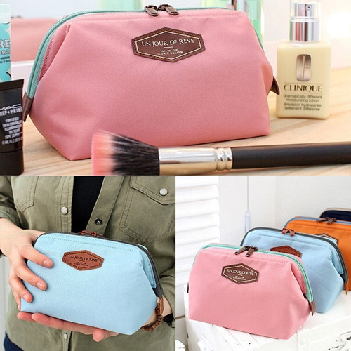Picture of Portable Cute Multifunction Beauty Travel Cosmetic Bag Makeup Case Pouch Toiletry