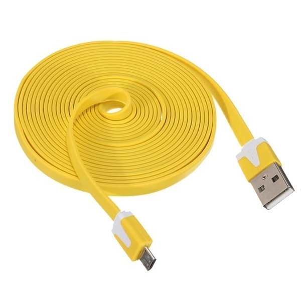 3m /10ft Micro USB Charger Cable for Samsung Galaxy S4 S3 S2 Note Lg HTC Android Phone IOS iPhone iPad