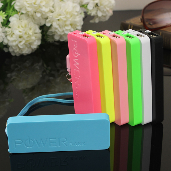 Picture of 5600 Mah Usb Power Bank Portable External Pack Battery Charger For Cellphone 10.8x4x1.1cm