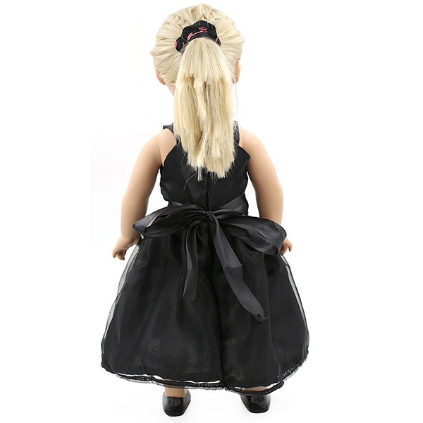 Wish | Black Dress Doll Clothes Fits 18\