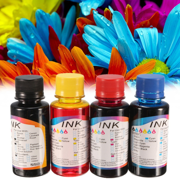 Picture of Refill Ink 100ml Ciss Cartridges For Hp 364 For Canon Mg2150 Mg2220 Mg2250