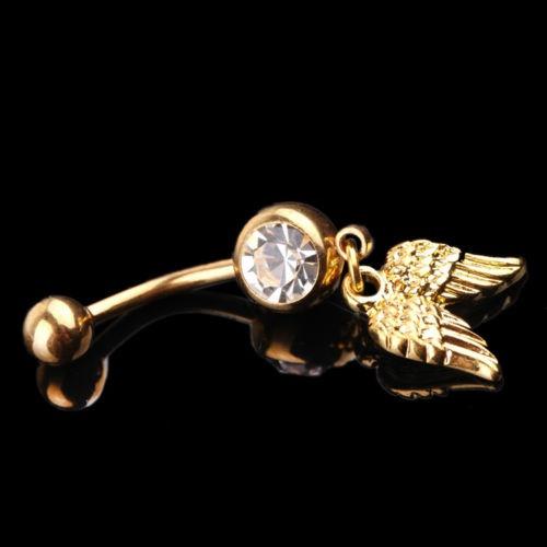 navel rings, cutebellybuttonring, crystalcleardamglybellyring, Crystal