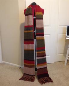 scarves or scarfs, longscsaf, cosplayscarf, doctorwho4thsc