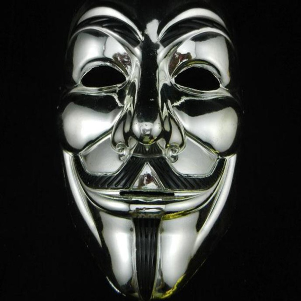 Wish Mascaras Halloween New Style Masks V for Vendetta Anonymous