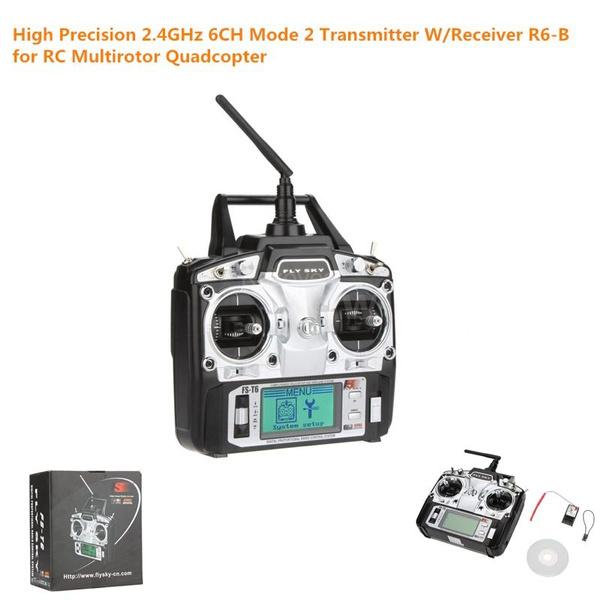 Wish   Hot Original Flysky FS T6 T6 FS High Precision 2.4GHz 6CH Mode 2   e040d3
