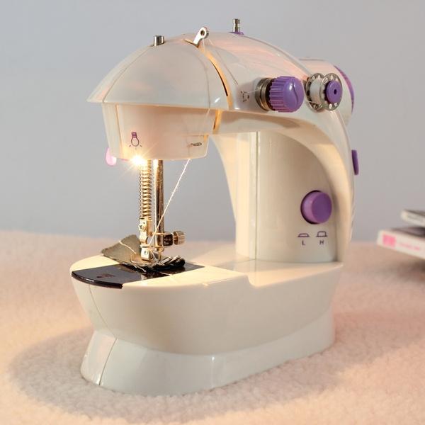 Mini, embroiderymachine, handheldsewingmachine, led