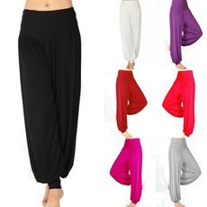 2017 New Fashion Women Ladies Comfy Harem Long Yoga Elastic Waist Pants Bloomers Pants Leg Warmer Belly Dance Boho Trousers