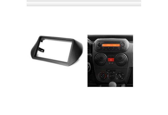 Fiat Qubo 2008 On Car Stereo Radio Double Din Fascia Facia Panel Plate