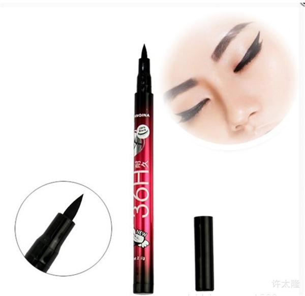 Picture of Superdeals Black Eyeliner Waterproof Liquid Make Up Beauty Comestics Eye Liner Pencil Pen Hi