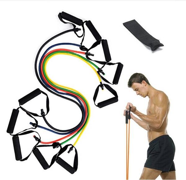 Sport, Yoga, latexresistanceband, Equipment