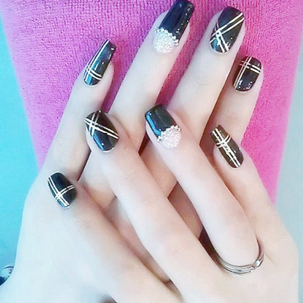 Wish | 10 Colors Rolls Striping Tape Line Painting Line Nail Sticker ...