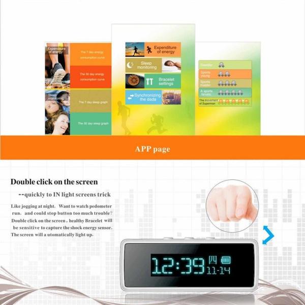Wish Smart Watch Wristband Running Fitbit Flex Bluetooth Pedometer