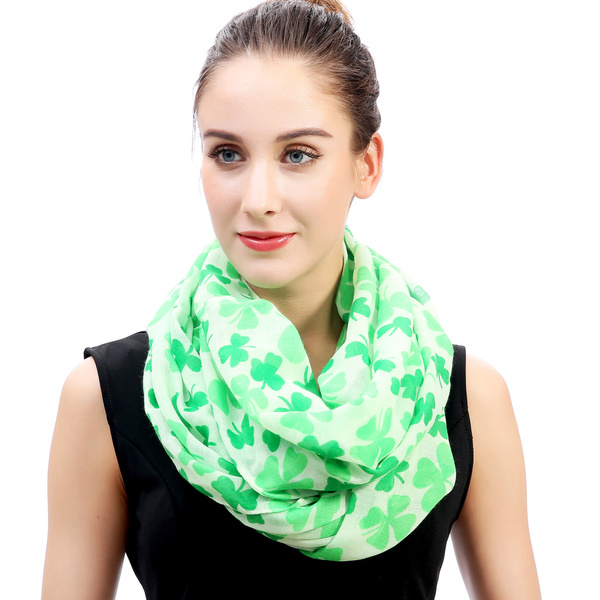 loopscarf, Clover, Fashion Scarf, Infinity