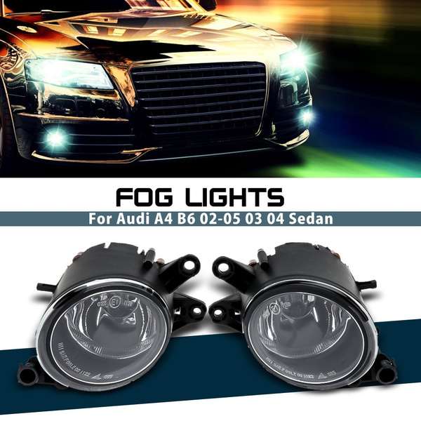For 04 Sedan Driving 02 05 28901 Audi Bumper Work A4 B6 K1537 Led 03 Lamp Bulb Front Car Lights Light Fog Grill K1cTFJl3