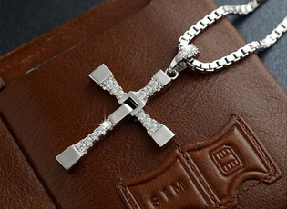 golden, silvercrossnecklace, Fashion, Jewelry