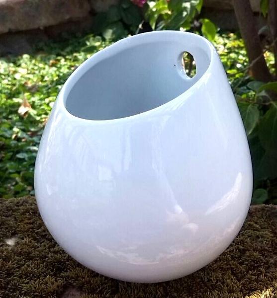 Wish   Ceramic flower pots planters decorative vases wall hanging ...