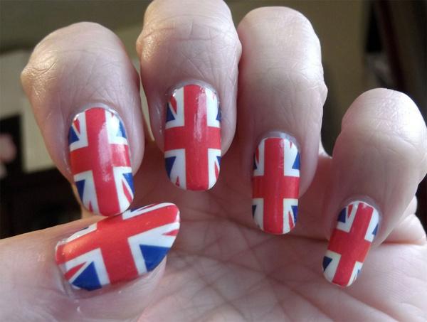 Wish Union Jack Nail Art Ujf Full Nail Wraps British Flag