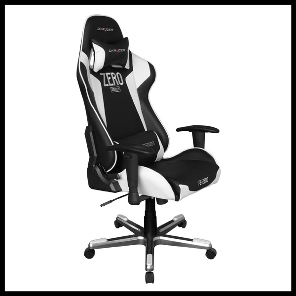 Brilliant Dxracer Fe00Nw Zero Office Chair Pc Gaming Chair Automotive Seat Computer Chair Pdpeps Interior Chair Design Pdpepsorg