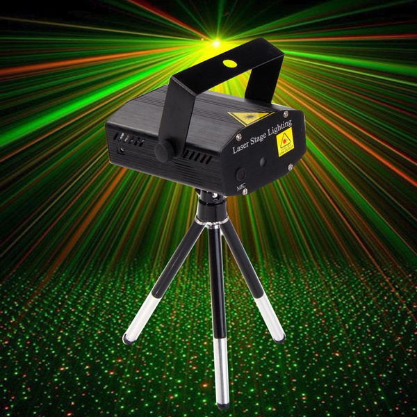 Picture of Mini Led Rg Laser Projector Stage Lighting Adjustment Dj Disco Party Club Size 1.us Plug2.uk Plug3.eu Plug