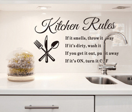 Home & Kitchen, diykitchendecor, kitchenwallsticker, Home Decor