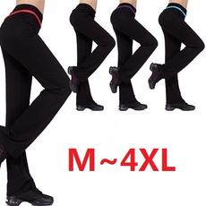 women's modal plus size dance long sports trousers 4 colors fitness confortable yoga pants