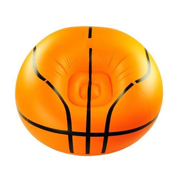 Wish   Inflatable Basketball Sports Bean Bag Chair Sofa Soccer Ball  Football Lounge Couch