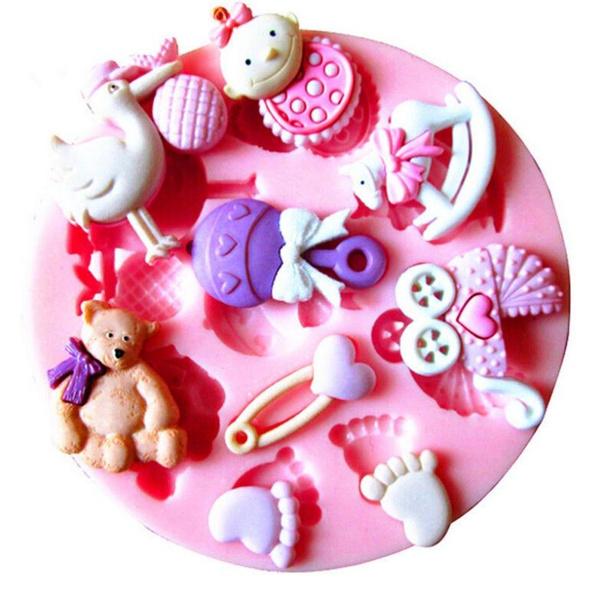 Cooking & Baking Supplies, babysiliconemold, candyclaysugarcraft, Food