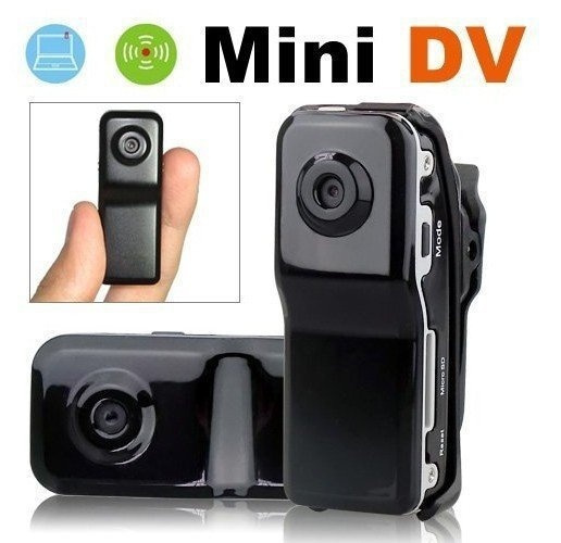 Picture of Waterproof Md80+bracket+clipblack Sports Video Camera Mini Dvr Cameramini Dvhidden Cameraspy Camera Support 4gb 8gb 16gb 32gb